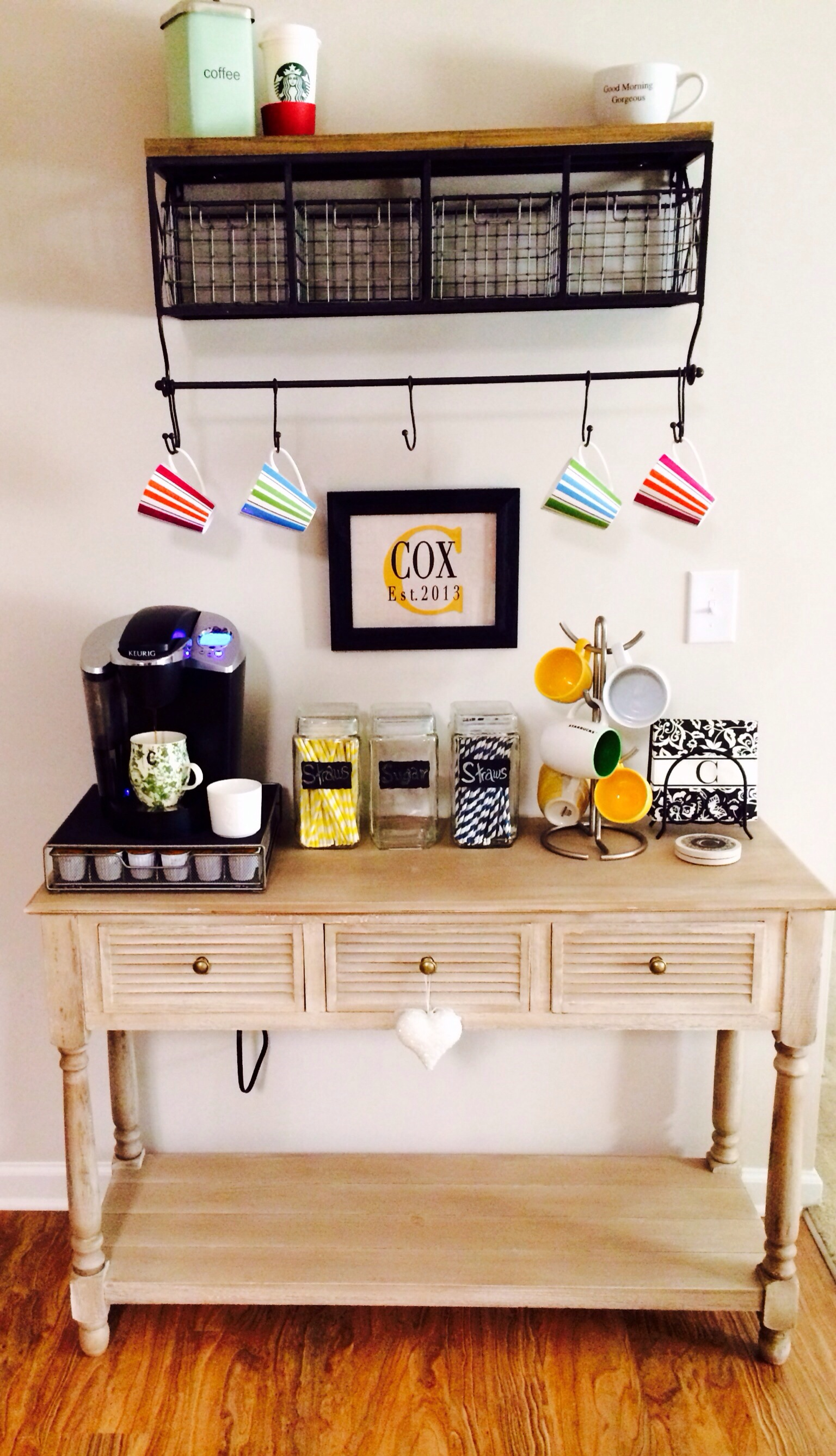 DIY Coffee Bar Simply Blissfully